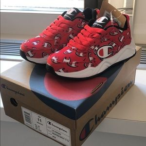 Champion Shoes | Kids Red Sneakers Size
